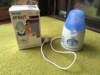 Philips AVENT Bottle and baby food warmer.
