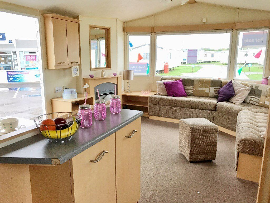 Spacious static caravan sited in Norfolk nr Wells, Hunstanton. Site fees included! Pet friendly.