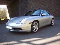 Porsche 911 996 Carrera 4 2000 Silver 3400cc