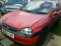 BREAKING VAUXHALL CORSA 1.0 cc GOOD ENGINE ALL PARTS AVAILABLE