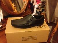 brand new black smart shoes