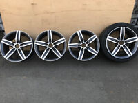 original BMW alloy wheels Full Set F20 F30 E46 E90 E81 F22 F45 will fit any BMW