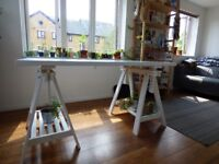 Ikea Trestle Table - 10 months old