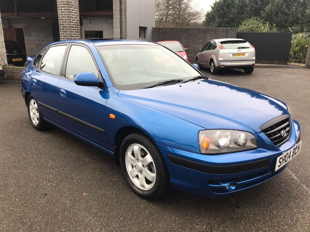 hyundai elantra cdx 2 0 diesel 5 door hatchback blue 2004 in maidstone kent gumtree. Black Bedroom Furniture Sets. Home Design Ideas