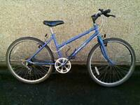 Ladies Raleigh calypso bike can deliver