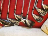 King cobra s9 irons 5 to sw including gap wedge