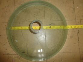 x2 Brand New Transparent Glass Basin £30 for the lot