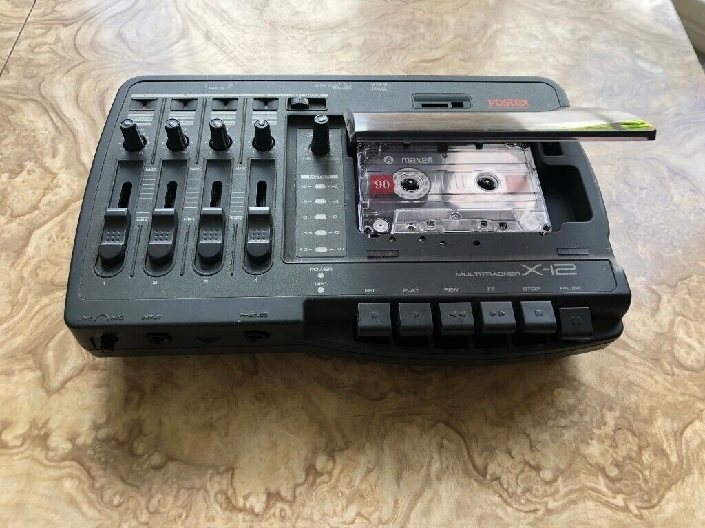 FOSTEX X-12 multitrack 4 track analogue cassette Recorder-Player | in  Haringey, London | Gumtree