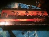 A Collection of vhs 007 James Bond films