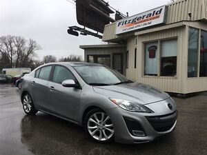2010 Mazda MAZDA3 GT - SUNROOF! HEATED SEATS!