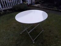 Metal Garden Table (DELIVERY AVAILABLE FOR THIS ITEM OF FURNITURE)