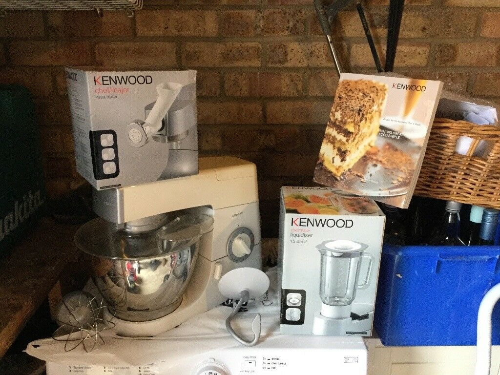 Kenwood Chef & Major food mixer Attchement and Accessories including Pasta Machine and Liquidiser