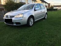 2007 Volkswagen Golf in silver with low mileage for sale