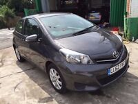1 OWNER, 2012 TOYOTA YARIS TR VVT-I, HPI CLEAR, REVERSE CAMERA, SAT NAV BLUETOOTH FINANCE AVAILABLE