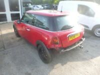 MINI COOPER - FE58YVU - DIRECT FROM INS CO
