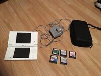 Nintendo dsi and 5 games and case. £50