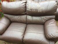 Reclining sofa 2 & 3 seater FREE
