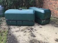700l Harcostar water butt green house allotment