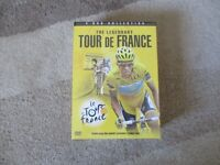 Tour de France DVD Box Set . Contains 4 dvds unopened.