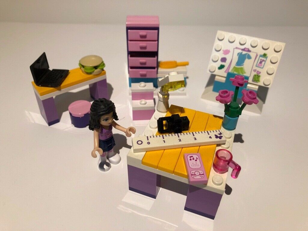 Lego Friends Emma S Design Studio 3936 Retired Instructions And Parts In Secure Zip Loc Bag In Hamilton South Lanarkshire Gumtree