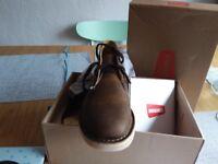 Shoes CLARKS ORIGINALS beeswax BNIB