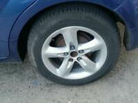 Ford 16inch alloy wheels and tyres 5x108 pcd