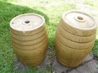 China honeyglazed wine barrels