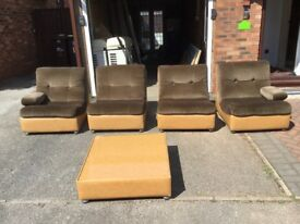 Sofa split in to 4 parts ( super light weight )