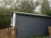 Shed / man cave electrics insulated