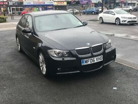 BMW 330i Msport 4dr 06 e90 may px