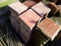 "Old Quarry Tiles, 6"" x 6"" Quantity 90"
