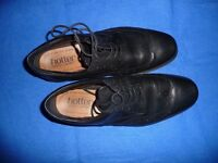 Almost New Mens Hotter Shoes - Black - Lace-up - Size UK 7.5\EU 41.5