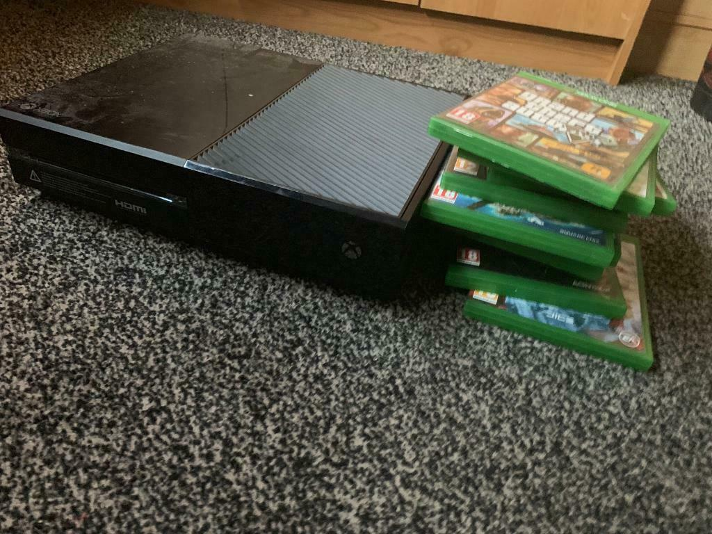 Xbox One 500gb with 7 games | in Leigh-on-Sea, Essex | Gumtree