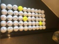 50 VARIOUS GOLF BALLS