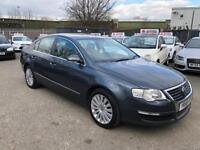 VOLKSWAGEN PASSAT 1.9 TDI / 12 MONTH MOT / FULL LEATHER HEATED SEATS /ONLY 2 KEEPERS / PARK SENSORS
