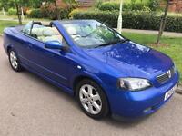 Vauxhall astra 2.2 convertible, bertone