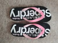Womens Small Superdry Flip Flop