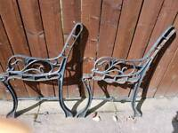 2 bench ends for sale