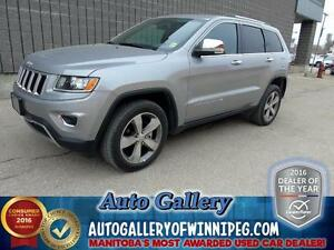 2015 Jeep Grand Cherokee LTD4X4*Lthr/NAV/Roof