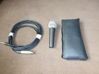 Genuine Shure SM 58 Microphone For Sale