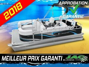 2018 Legend Boats Ponton Splash Plus Flex Mercury 25 ELPT Bateau