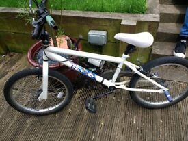 Child's bike, age 6/8, Bought from Halfords
