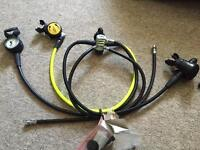 Scuba Regs - serviced, excellent condition