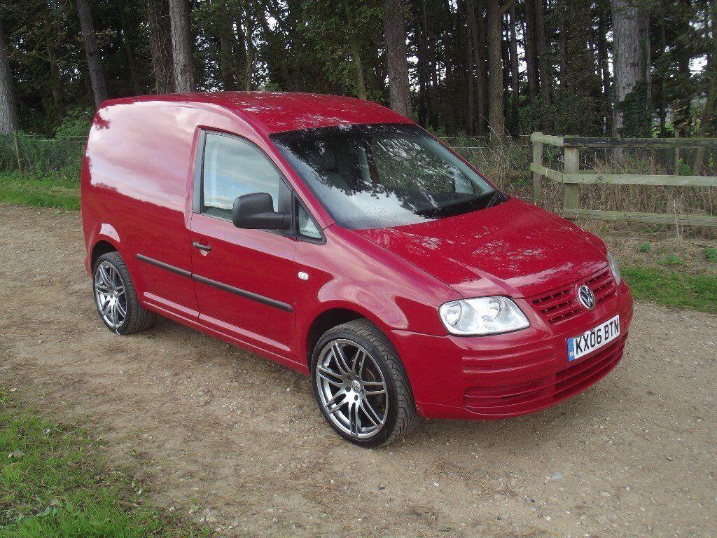 volkswagen vw caddy 69ps sdi 2006 diesel van red in. Black Bedroom Furniture Sets. Home Design Ideas