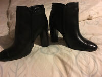 LADIES BLACK ANKLE BOOTS from NEXT size 5