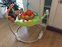 Nearly new, hardly used, in very good condition rainforest Jumperoo.