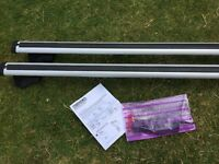 Exodus universal roof rack for railings