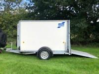 Ifor Williams BV84G Box Trailer Camping Carboot Campervan Motorhome Trailor