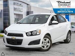 2013 Chevrolet Sonic LS LOW KMs   13% OFF