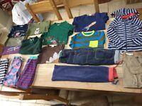 Boys Bundle of Mini Boden Clothing Age 5-6-7